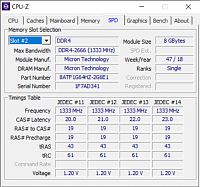 برای دیدن سایز بزرگ روی عکس کلیک کنید  نام: CPU-Z  1_23_2021 1_54_29 PM.png مشاهده: 10 حجم: 100.1 کیلو بایت